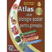 Atlas de biologie scolar pentru gimnaziu. Botanica, zoologie, anatomia omului, ecologie