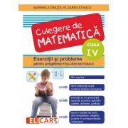Culegere de matematica. Exercitii si probleme pentru pregatirea evaluarii nationale. Clasa a IV-a