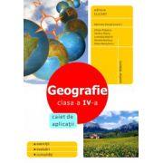 Geografie clasa a IV-a - Caiet de aplicatii