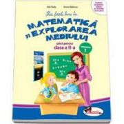 Stiu foarte bine la... Matematica si explorarea mediului, caiet pentru clasa a II-a - Semestrul 1 (Anina Badescu)