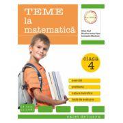 Teme la matematica. Exercitii, probleme, notiuni teoretice, teste de evaluare clasa a IV-a. Caiet de lucru