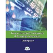 Teme si termeni de informatica si tehnologia informatiei, ghid explicativ