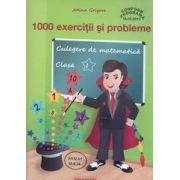 Culegere de matematica, 1000 exercitii si probleme pentru clasa I