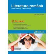Literatura romana, eseuri pentru clasele IX-XII