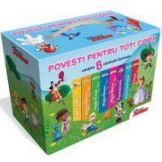 Cutie cadou Disney. Povesti pentru toti copiii (8 Volume)