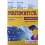 Matematica bacalaureat 2015. Filiera teoretica - specializarea stiintele-naturii. Exercitii recapitulative. Teste