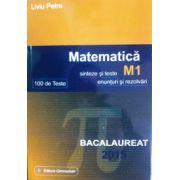 Bacalaureat Matematica 2015 M1 100 Teste