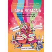 Limba Romana, culegere de exercitii pentru elevii claselor II-IV