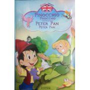 Povesti bilingve. Pinocchio (Pinocchio ) - Peter Pan (Peter Pan)