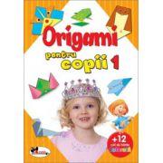 Origami pentru copii 1 (Cartea contine 12 coli hartie pentru origami)