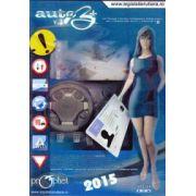 Auto B+V.3 - Software pentru obtinerea permisului de conducere auto categoria B (DVD) - Editia 2015