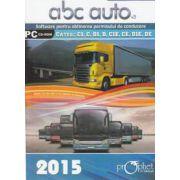 CD - ABC Auto v.3.0 - Editie 2015 - Pentru categoriile C1, C, D1, D,C1E, CE, D1E, DE