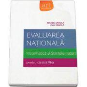 Evaluare nationala 2015. Matematica si Stiintele naturii pentru clasa a VI-a. (Eduard Dancila)
