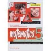 Matematica 2000 CONSOLIDARE 2014-2015 aritmetica, algebra, geometrie clasa a V-a partea a II-a/semestrul 2