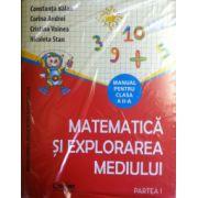Matematica si explorarea mediului, manual pentru clasa a II-a Sem. l si Sem. II
