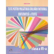 Teste pentru pregatirea Evaluarii Nationale, matematica si stiinte TIMSS - Clasa a VI-a