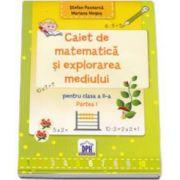 Caiet de matematica si explorarea mediului pentru clasa a II-a, partea I (Stefan Pacearca)