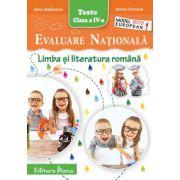 Evaluare Nationala 2015. Limba si literatura romana, pentru clasa a IV-a (Elena Stefanescu)