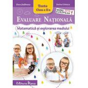 Evaluare Nationala 2015. Matematica si explorarea mediului, pentru clasa a II-a (Elena Stefanescu)
