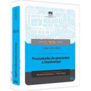 Procedurile de prevenire a insolventei (Nicoleta Tandareanu, Florin Motiu)