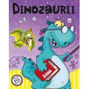 Dinozaurii, cu peste 500 de abtibilduri