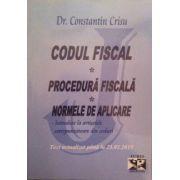 Codul Fiscal, Procedura Fiscala, Normele de aplicare (introduse la articolele corespunzatoare din coduri). Actualizat 23.02.2015