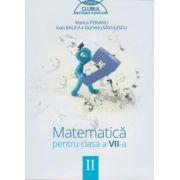 Clubul matematicienilor. Matematica pentru clasa a VII-a, Semestrul II