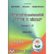 Concursul de matematica Florica T. Campan pentru clasele I-IV