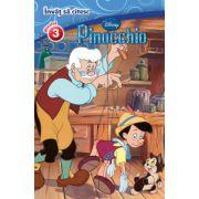 Invat sa citesc. Pinocchio - Nivelul 3 (Editie cartonata)
