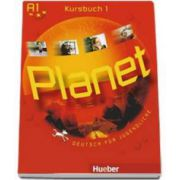 Planet 1, manual de germana pentru clasa a V-a, Kursbuch (A1) - Deutsch fur Jugendliche