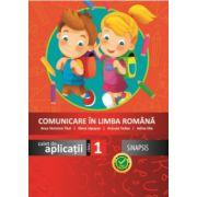 Comunicare in limba romana, caiet de aplicatii pentru clasa I (Anca Veronica Taut)