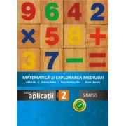 Matematica si explorarea mediului caiet de aplicatii clasa a II-a (Anca Veronica Taut)