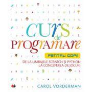 Curs de programare pentru copii, de la limbajele Scratch si Python la conceperea de jocuri