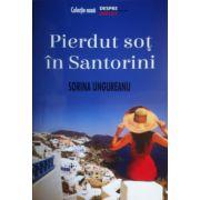 Pierdut sot in Santorini