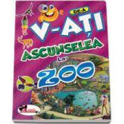 De-a v-ati ascunselea - La Zoo (Contine autocolante)