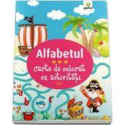 Alfabetul. Carte de colorat cu activitati (3-5 ani)