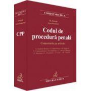 Codul de procedura penala. Comentariu pe articole (Mihail Udroiu)