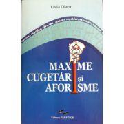 Maxime, cugetari si aforisme (Olaru Livia)