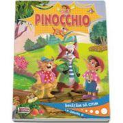 Pinocchio. Editie ilustrata, invatam sa citim la grupa 0