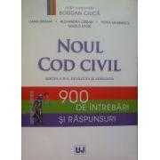Noul Cod civil, 900 de intrebari si raspunsuri