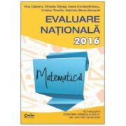 Matematica Evaluare nationala 2016. 71 de teste propuse dupa modelul elaborat de M.E.N.