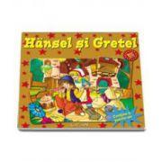 Hansel si Gretel. Contine 6 puzzle-uri