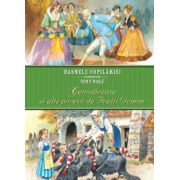Cenusareasa si alte povesti de Fratii Grimm. Basmele copilariei ilustrate de Tony Wolf