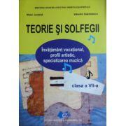 Teorie si solfegii, manual pentru clasa a VII-a