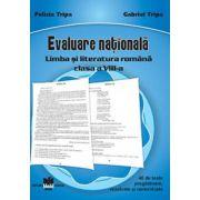Evaluare nationala limba si literatura romana clasa a VIII-a, 40 de teste pregatitoare, rezolvate si nerezolvate