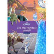 Cele mai frumoase povesti din regatul de gheata (Carte cu CD)