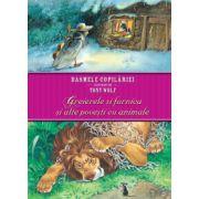 Basmele copilariei ilustrate de Tony Wolf - Greierele si furnica si alte povesti cu animale