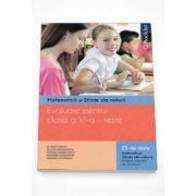 Evaluare pentru clasa a VI-a - Teste. Matematica si stiinte ale naturii. 25 de teste matematica, stiinte ale naturii. Modele complete de rezolvare