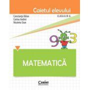 Caietul elevului de matematica pentru clasa a III-a (Constanta Balan)