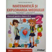 Matematica si explorarea mediului. Manual pentru clasa a II-a, semestrul 1